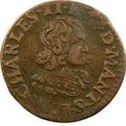 Double-Tournois Charles II de Gonzague (Type 23) – avers