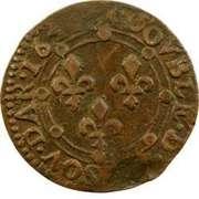 Double-Tournois Charles II de Gonzague (Type 23) – revers