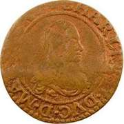 Double-Tournois Charles II de Gonzague (Type 21) – avers