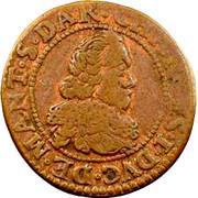 Double-Tournois Charles Ier de Gonzague (Type 11) – avers