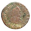 Double-Tournois Charles Ier de Gonzague (Type 7bis) – avers