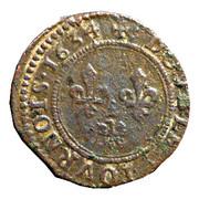 Double-Tournois Charles Ier de Gonzague (Type 7bis) – revers