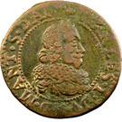 Double-Tournois Charles Ier de Gonzague (Type 15) – avers