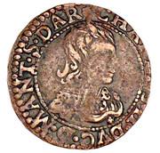 Double-Tournois Charles II de Gonzague (Type 22) – avers