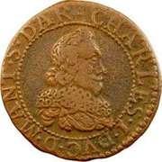 Double-Tournois Charles Ier de Gonzague (Type 7) – avers