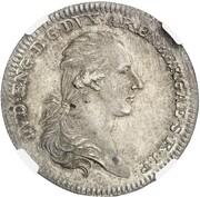 1 thaler Ludwig Engelbert – avers