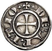 1 Grosso Agontano - Guglielmo degli Ubertini – avers