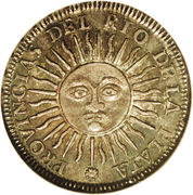 1 sol (Province de Rio de la Plata) – revers