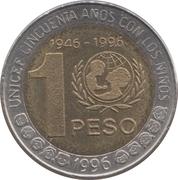 1 peso (Unicef) -  revers
