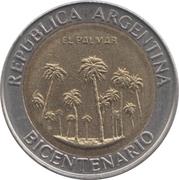 1 peso (El Palmar de Colón) -  avers