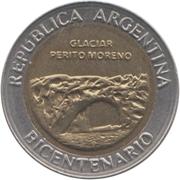 1 peso (Glacier Perito Moreno) -  avers