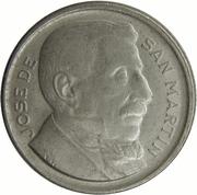 10 centavos San Martín -  revers