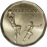 20 pesos (Coupe du monde de football Argentine 1978) -  avers