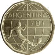 50 pesos (Coupe du monde de football Argentine 1978) -  avers