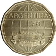 100 pesos (Coupe du monde de football Argentine 1978) -  avers