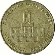 5 pesos (Cabildo de Buenos Aires) -  avers