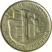 10 pesos (Casa de Tucumán) -  avers