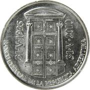 2 pesos (Banque centrale) -  avers