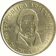 50 centavos (Général San Martin) -  avers