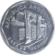 5 australes (Casa de Tucumán) -  avers