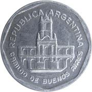 1 austral (Cabildo de Buenos Aires) -  avers