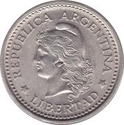 20 centavos – avers