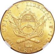 8 escudos (Province de Rio de la Plata) -  revers
