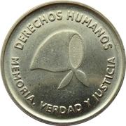 2 pesos (Défense des droits de l'homme) -  avers