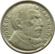 5 centavos San Martín -  avers