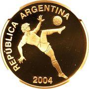 10 Pesos (Coupe du monde de football Allemagne 2006) -  avers