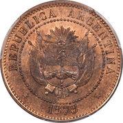 2 centavos Fuertes – avers