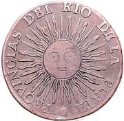 2 soles (Province de Rio de la Plata) – avers