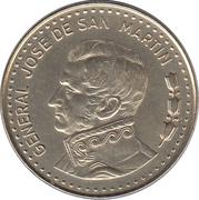 50 pesos (José de San Martín, magnétique) -  revers