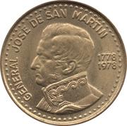 50 pesos (José de San Martín) -  avers