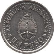 1 peso (Révolution de mai) -  avers