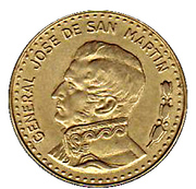50 pesos (José de San Martín) -  revers