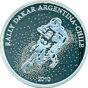 1 Peso (Rally Dakar Argentina-Chile 2010) -  avers