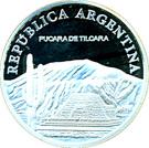 1 peso Pucará de Tilcara – avers