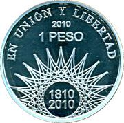 1 peso Pucará de Tilcara -  revers