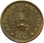 2 centavos – avers