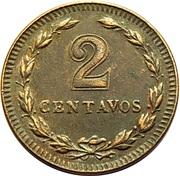 2 centavos – revers