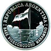 5 pesos (International Polar Year) -  avers