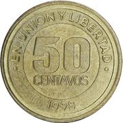50 centavos (Mercosur) – revers