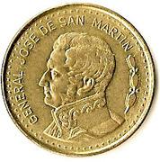 100 pesos (José de San Martín, Magnétique) -  revers