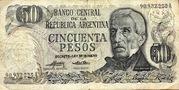 50 Pesos 1975A – avers