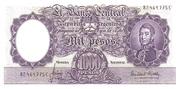 1,000 Pesos – avers
