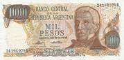 1000 Pesos -  avers