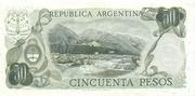 50 Pesos – revers