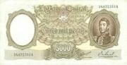 5,000 Pesos – avers