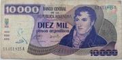 10,000 Pesos Argentinos – avers